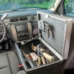 center console AR-15/gun safe