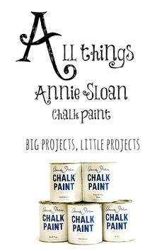All things #AnnieSloan chalk paint projects. #Furniture, decor and more from my personal gallery of ideas.