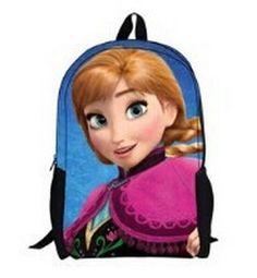 Mochila Anna. Frozen: El Reino del Hielo Estupenda mochila basada en la película Frozen: el Reino del Hielo.