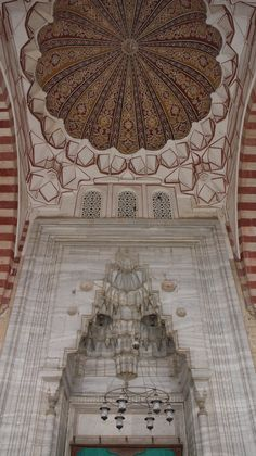 The Selimiye Mosque is an Ottoman mosque in the city of Edirne, it was built by architect Mimar Sinan between 1569 and 1575