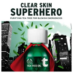 #tbt to the first time we called on this clear skin #superhero. When did you start using #TeaTreeOil?
