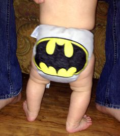 Cloth Diaper Applique Embroidery Batman by MyVeryBest on Etsy