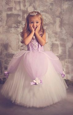 Sofia the First! Adorable!
