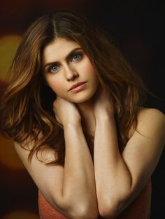 Alexandra Daddario. The most beuty women of the world.
