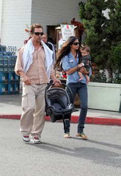 Camila Alves - Matthew McConaughy and His Family