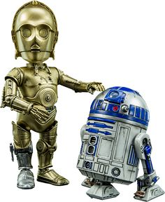 BLOG DOS BRINQUEDOS: C-3PO and R2-D2 Star Wars Collectible Figure
