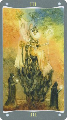 The Empress - Fairy Lights Tarot Aphrodite, Black Jesus, Tarot Major Arcana, The Empress, Oracle Cards, Tarot Decks, Archetypes, Tarot Cards, Fairy Lights