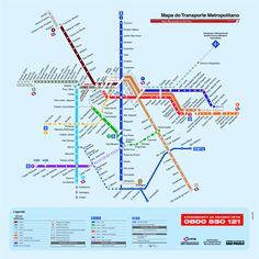 karta-over-sao-paulos-tunnelbana.gif (1445×1445)