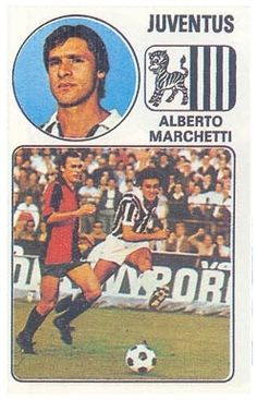 Marchetti - Panini Euro Fútbol 77