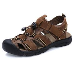 Men's Genuine Leahter Sandals