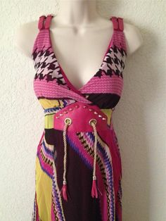 SEXY Long Dress NWT Summer Hand Made Buckle Strap FULL LENGTH