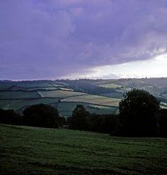 The Salisbury plain between Stonehenge and Bath