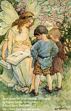 LARA M BURD - Lovely fairy reads to young children