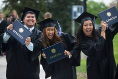 State University of New York at Geneseo Commencement - Congratulations graduates! http://studyusa.com/