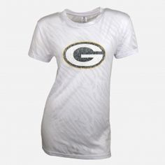 NFL Womens Green Bay Packers Short Sleeve Top