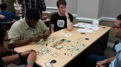 More fun at IGDA! Playing Scrapyard Empire - http://www.scrapyardempire.com #kickstarter #steampunk #game