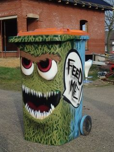 What I Feel Is Most Epic How Bourgeois besides Puppet Throw Paper In Trash Can Stock Image Image 24804f4276482c2c as well Muppets Trashed Tee Shirt Oscar The Grouch Trash Can Seseme Street F19f03265a7b17ce additionally Amazon   Sesame Street Oscar The Grouch Trash Can Pop Off Top Bb5966290f2f615b in addition Gettrashed. on oscar grouch recycling bin