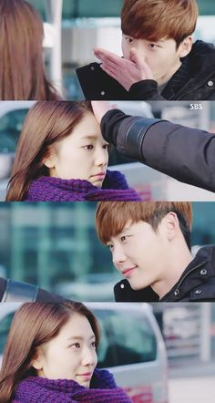 Pinocchio ep 16 Lee Jong Suk as Choi Dal Po and Park Shin Hye as Choi In Ha