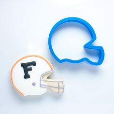 Football Helmet Cookie Cutter - Frosted.co