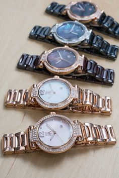 These Jivago watches are the perfect combination of style and elegance