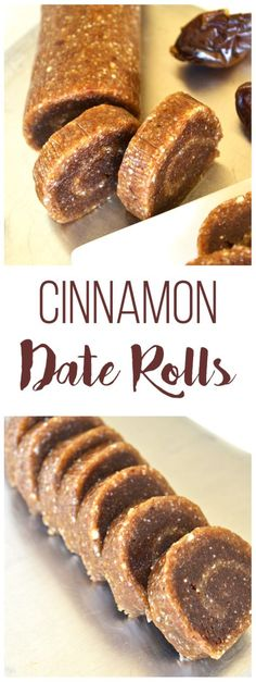 Need a sweet cinnamony treat? These Cinnamon Date Rolls have protein and no refined sugars! Just a few ingredients make the the perfect clean treat!