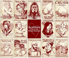 A Very Avatar Valentines Day!