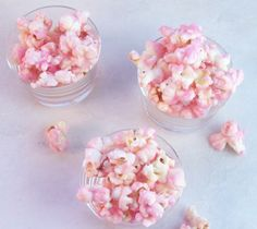 Old fashioned pink popcorn!  It looks like cherry blossoms!!  OMG I need these!!!