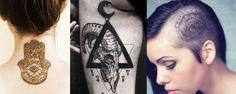 tatuagem de símbolos ocultos 3