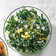 Tuscan Kale Caesar Slaw - You don't have to use anchovies and you certainly could use your favorite prepared dressing. It's great with the hardboiled egg on top!
