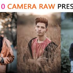 Top 10 Camera Raw Presets For Photo Editing by Tapasheditz