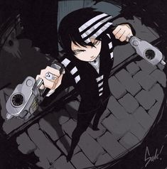 Soul Eater - Death the Kid Commission by ffSade on deviantART