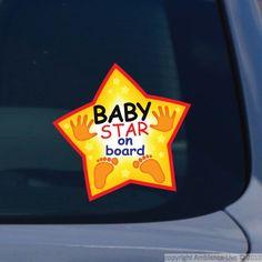Stickers pour les bébés - Sticker bébé star sign | Ambiance-live.com
