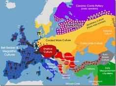 Restart of Europe after Last Ice Age-I Haplogroup 25 kyr continuity-The 'Latin' (Indo) Europeans-Igor M. D'iakonov – Colin Renfrew-Kalevi Wiik-Gray&Atkinson – Old Europe European History, World History, Ancient History, Uk History, Cradle Of Civilization, Historical Maps, Bronze Age, Ancient Civilizations, Archaeology