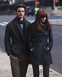 scarf, pea coat, jacket, trench, women, men, fashion
