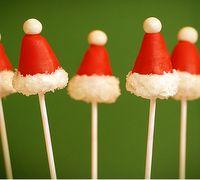 mini Christmas snacks