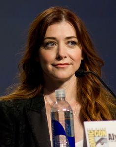 Lily Aldrin List of How I Met Your Mother characters - Wikipedia, the free encyclopedia Alyson Hannigan, How I Met Your Mother, Lily Aldrin, Gorgeous Redhead, I Meet You, Redheads, Actresses, Film, American