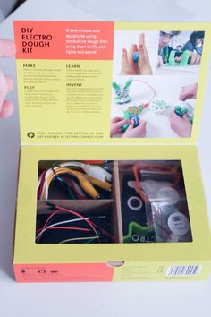 Technology will save us diy electro dough kit