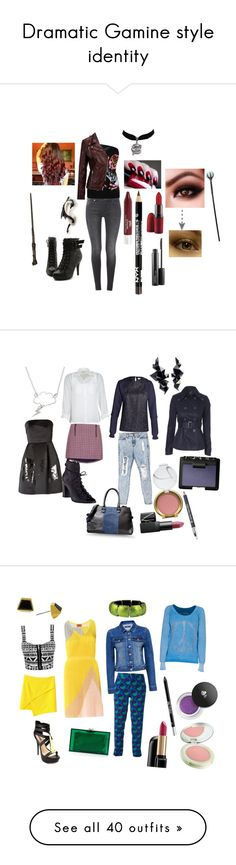 Dramatic Gamine style identity by in-vero-pulcritudo on Polyvore featuring polyvore fashion style PurMinerals 7 For All Mankind Ollio MAC Cosmetics SELECTED harrypotter fanfiction Marauders Sorceress sorcery beauty Jonathan Saunders Nimbus Topshop Steve Madden Pièce d'Anarchive Jane Norman See by Chloé NARS Cosmetics Jane Iredale Vince Camuto Charlotte Russe Missoni Marc by Marc Jacobs Forever New Charlotte Olympia True Religion Urban Decay Lancôme Origins J Brand Office McQ by Alexander…