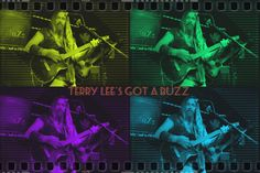Terry Lee got a BuZz were paying a gig at a private party for Halloween.10-14
