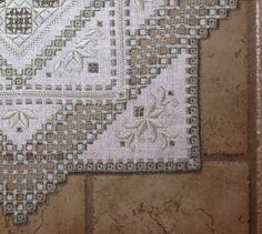 Stunning Handstitched Hardanger Centerpiece by MnMom23 on Etsy
