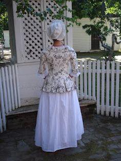 The Couture Courtesan: A Polonaise Jacket