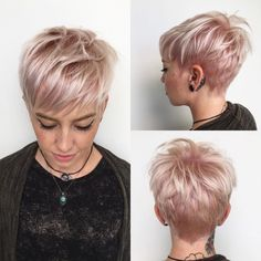 100 Mind-Blowing Short Hairstyles for Fine Hair Hair Short pixie cut haircuts thin hair - Thin Hair Cuts Short Shaggy Haircuts, Haircuts For Fine Hair, Pixie Hairstyles, Short Hairstyles For Women, Latest Hairstyles, School Hairstyles, Punk Pixie Haircut, Brown Hairstyles, Woman Hairstyles
