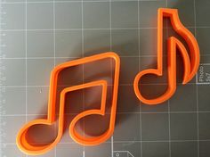 If you have a custom shape or logos in mind please contact us for your unique custom orders. This listing is for Music combination Note Cookie Cutters, Measurements are approximately as shown 2.5x2.5