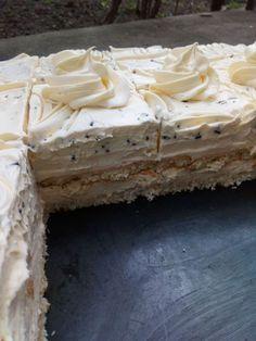 Baking Recipes, Cookie Recipes, Dessert Recipes, Kiflice Recipe, Torta Recipe, Passionfruit Recipes, Cut Recipe, Kolaci I Torte, Torte Cake
