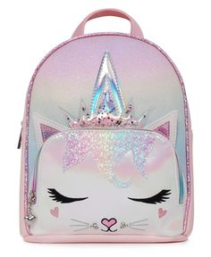 Kitty Backpack, Mini Backpack, Cute Backpacks, Girl Backpacks, Kids Outfits Girls, Girls Bags, Little Girl Backpack, Apple Watch Accessories, Backpack Reviews