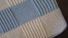 Crafts By Starlight - In process of moving to a website.: Crochet Baby Blanket - Baby Blue