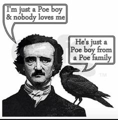 Two of my fav things combined: Poe & Queen. Hahaha. (Poehemian Rhapsody)