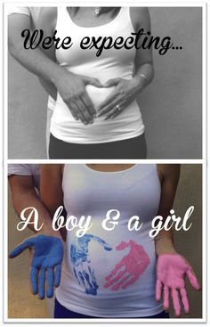 Twins gender announcement!