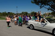 College of Education in the Homecoming Parade 2014 #FIU #FIUCollegeofEdu