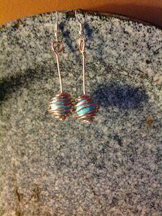 Turquoise wrap earring $ 11.00